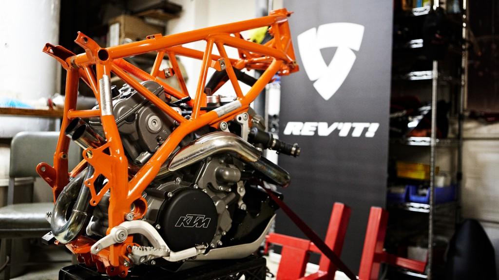 REV'IT! all wheel drive motorbike